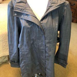 Kirkland, Plus 2X, rain jacket, grey